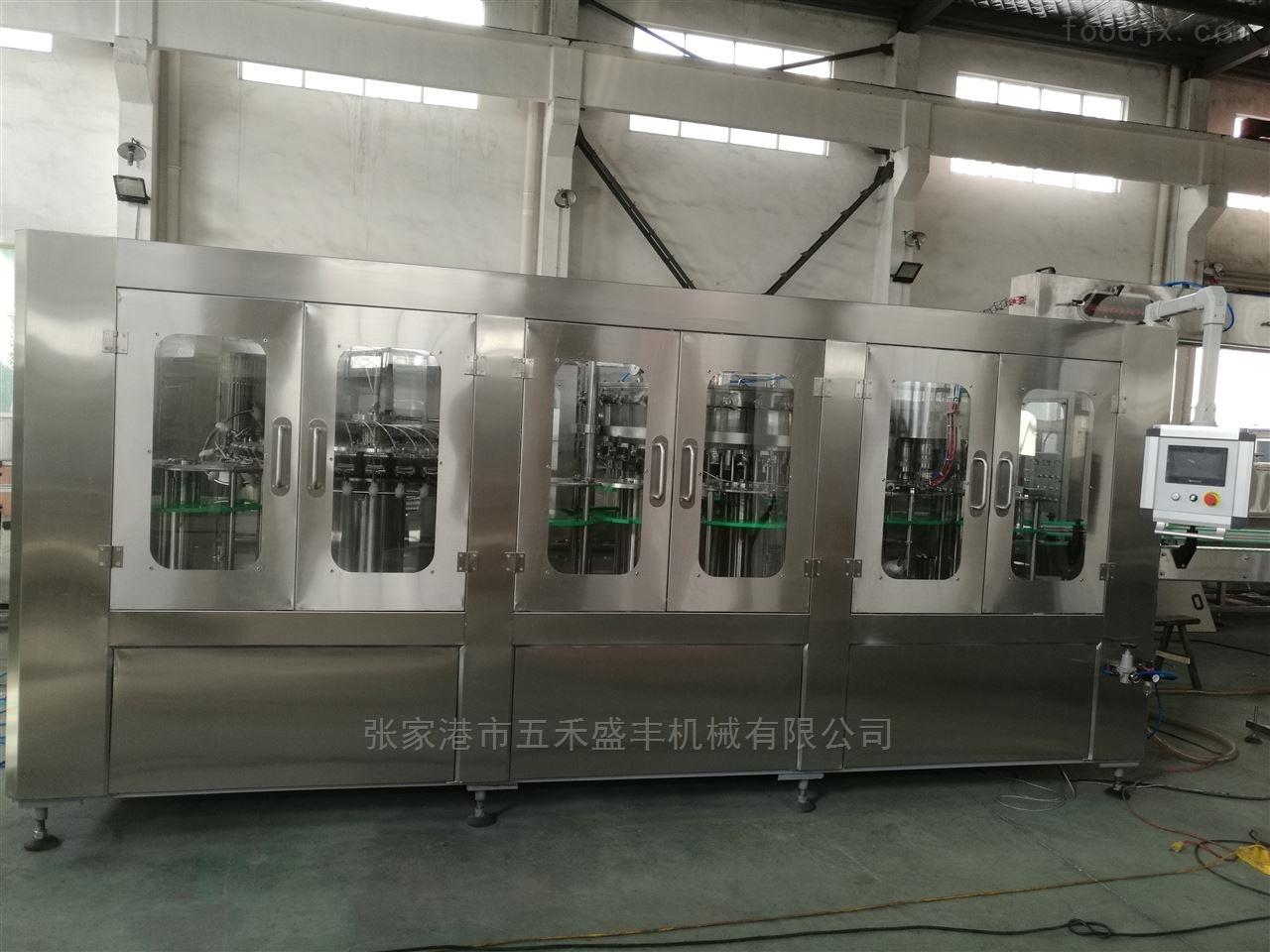 含气饮料自动生产线
