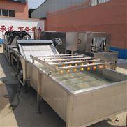 QX-4-生产辣椒清洗机,果蔬清洗设备 小型洗菜机