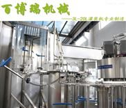 4L三合一不锈钢全自动液体灌装生产线