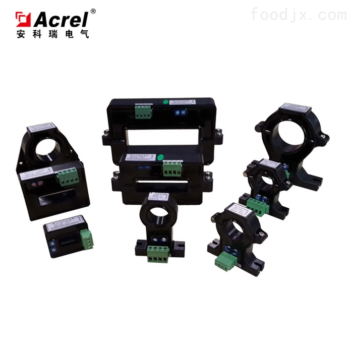 开口式霍尔电流传感器改造配电系统中的应用