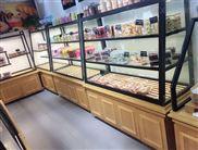 面包店边柜,蛋糕店展示柜厂家----宏发展柜