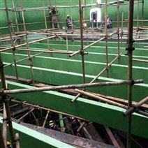 河北鹿泉蓄水池玻璃鳞片防腐施工