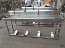 不銹鋼感應消毒洗手池