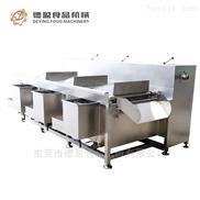 DY-2900-食堂果蔬清洗设备全自动三槽洗菜机德盈机械