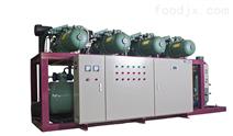 大型冷庫專用比澤爾螺桿式并聯制冷機組