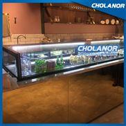 供应CHOLANOR法式甜品展示柜西点蛋糕柜