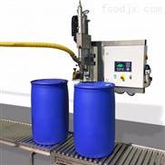 半自动化工大桶多种液体灌装机
