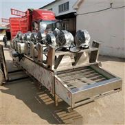 白菜带式干燥机,专业网带式吹干机热销,翻转式风干机