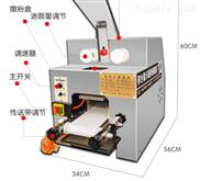 利津全自动商用小型仿手工饺子皮机厂家直销