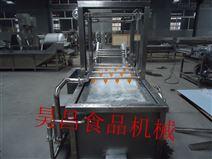 昊昌蔬菜水果高压喷淋提升清洗机