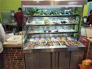 郑州自选柜1.8米麻辣烫展示柜点菜柜价格