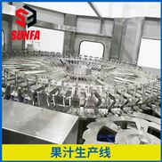 全自动饮料灌装机 花果茶饮料生产线厂家