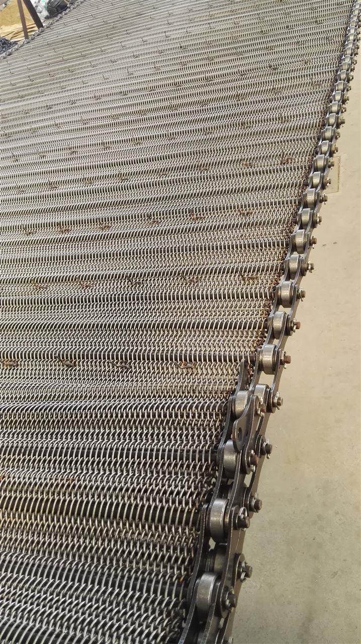 不锈钢食品链条式输送网带