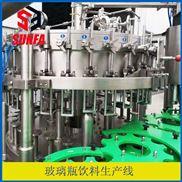 中小型玻璃瓶饮料生产线设备厂家