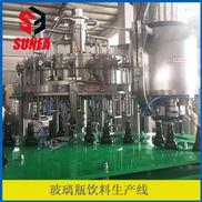RXGF24-24-8-玻璃瓶碳酸灌装设备  含气饮料灌装机