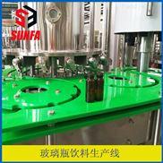 RXGF32-32-10-10-50ml玻璃瓶柱塞式饮料灌装设备