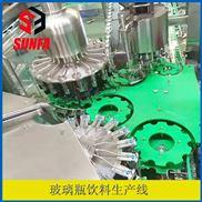 玻璃瓶压盖机  果汁饮料生产线