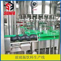 BXGF24-24-8广口玻璃瓶饮料生产线