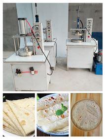 HR-YBJ-400家用不锈钢烤鸭压饼机