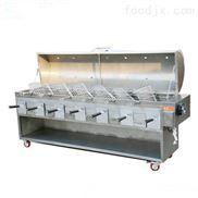 无烟烤炉--直销木炭烤全羊炉子-自助餐自动翻转烤串炉