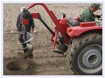 二沖程種樹機雙人操作挖坑機 耗電低