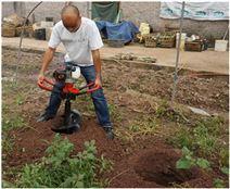 新型挖坑机价格植树造林 操作简单