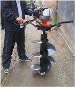 植樹挖坑機大棚安裝打坑機 便于攜帶