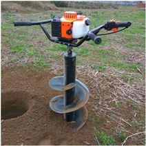 大棚杆挖洞机汽油挖眼打桩机 大功率