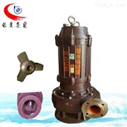 NSQ立式潜水吸沙泵杂质清淤泵耐磨渣浆泵