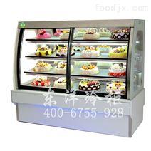 欧式前开门蛋糕柜-面包房冷藏柜-厂家直销