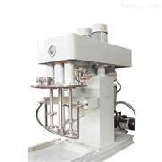 高粘度膠水三軸多功能分散攪拌機