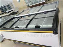 郑州组合式冷冻柜价格卧式商用岛柜展示冰柜