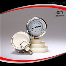 100毫米徑向充油壓力表