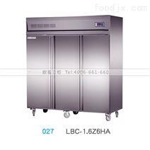 广州直销大型不锈钢豪华款六门冷柜价格