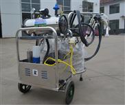 YZ-I型不锈钢双桶脉冲式真空泵奶牛挤奶机