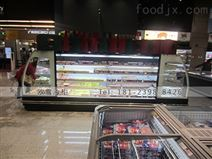 北京开放式水果风幕柜定制价格