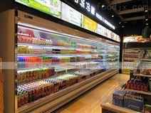 惠州一体外置大型饮料风幕柜设计安装