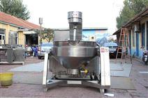 生产供应桂圆膏搅拌炒锅设备