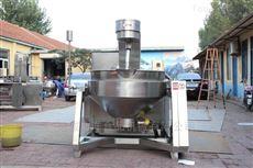 200L生产供应桂圆膏搅拌炒锅设备