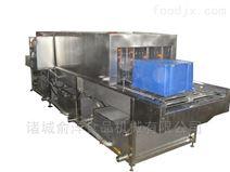 厂家热销优质蒸汽加热塑料周转箱清洗机