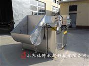 厂家直销全自动油水分离膨化食品油炸机