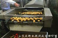 佳特连续式油豆腐油炸机