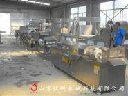 机械化操作的鸡米花油炸机可连续化生产
