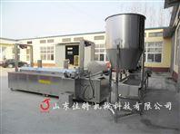 北京煎饼果子薄脆油炸机,脆皮油炸流水线