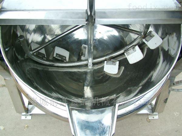 厂家直销400L电加热卤煮锅 可倾式夹层锅