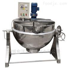 50-1000L优质电加热导热油不锈钢夹层锅