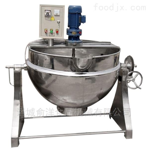 全自动蒸煮大型餐厅燃气300L夹层锅