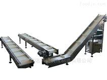不锈钢网带式输送线 转弯爬坡提升输送