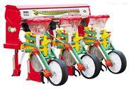 悬浮式六连杆三行玉米施肥播种机