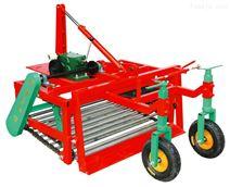四轮拖拉机前置大蒜收获机收割抛蒜挖蒜机